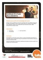 Download the Certificate IV in Youth Work with DaVange Brochure